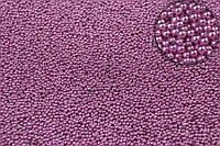 "Декоративная присыпка ""Aloinopsis"" для творчества, металлик, бледно-розовая, диаметр 0.6-0.8мм, вес 250г, Присыпка для рукоделия, Присыпка для декора"