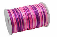 Канат декоративный Eremurus, длина 91,5 м, диаметр 2,5 мм, материал: полимер, цвет розовый, лента для декора, канат для украшения