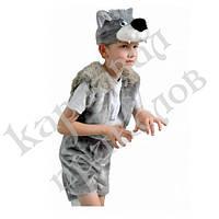 Маскарадный костюм меховой Волк (размер S)