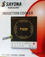 Индукционная кухонная Электроплита плитка Sayona SIJ-4017 2000W