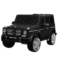 Детский электромобиль M 3567 EBLRM-2 (Mercedes G65 VIP): 90W, 8 км/ч, EVA, кожа - BLACK MAT - купить оптом , фото 1
