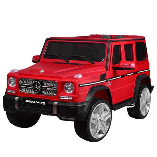 Детский электромобиль M 3567 EBLRM-3 (Mercedes G65 VIP): 90W, 8 км/ч, EVA, кожа - RED MAT - купить оптом