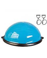 Балансировочная полусфера LiveUp BOSU BALL blue