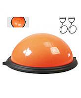 Балансировочная полусфера LiveUp BOSU BALL orange