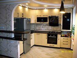 Дизайн интерьера и меблировка кухни-студии, фото 3