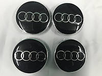 Audi 100 C3 Заглушки в титановые диски 55,5 мм внутренний диаметр