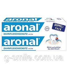 Зубная паста с цинком Аronal ZAHNFLEISCHSCHUTZ mit Zink, Doppelpack, 2х75 ml