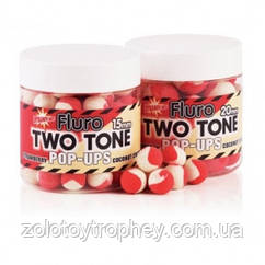 Поп-ап Dynamite Baits Two Tone Fluro Strawberry & coconut cream