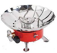 Газовая горелка (плита, примус) WILD HM166, пьезорозжиг