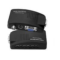 Конвертер AV в VGA (RCA, BNC composite, S-Video to VGA), 5V~19V