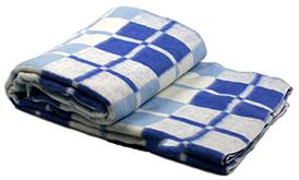 Одеяло клетчатое хлопковое Vladi