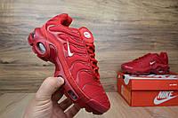 Женские кроссовки в стиле NIKE Air Max Tn Plus, красные , фото 1