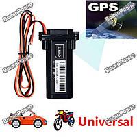 GPS трекер для автомобилей, мотоциклов. GPS GSM GPRS SMS трекер i-Trac MT-1 для авто мото 12-24В с батареей