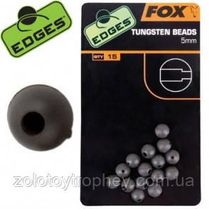 Резиновые буферные шарики с вольфрамом Edges 5mm Tungsten Beads