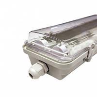 Светильник промышленный 2*600мм IP65 slim под лампу, фото 1