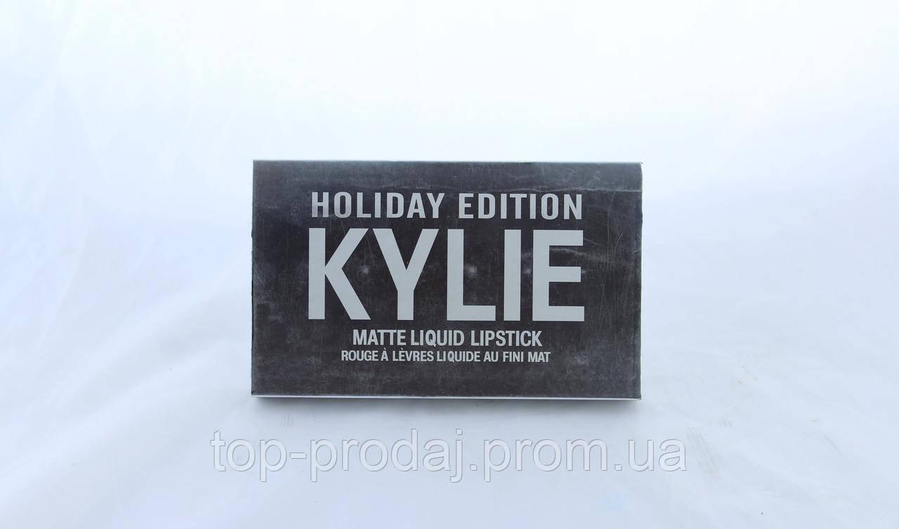 Помада Kylie 8613, Kylie silver (в уп.20 штук), Матовые помады kylie, Стойкая матовая помада