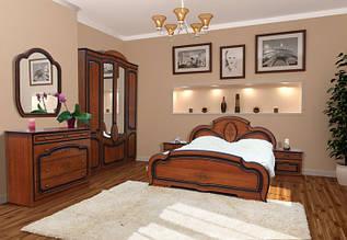 Спальня 4Д (без матрасу та каркаса) Поліна (патина) Світ Меблів