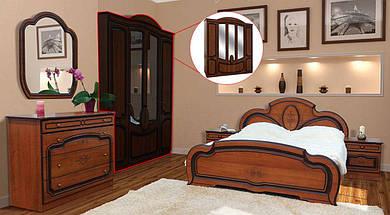 Спальня 5Д (без матрасу та каркаса) Поліна (патина) Світ Меблів