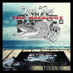 Полотенце Hotspot design BEACH TOWEL PIKE THE BADDEST