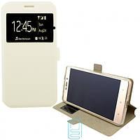 Чехол-книжка Modern 1 окно Samsung Grand Prime G530, J2 Prime G532 белый