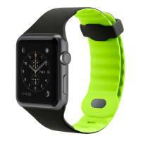 Ремешок Belkin Sport Band Blacktop/Flash для Apple Watch 42mm Series 1/2/3
