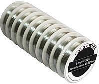 Проволока для бисера (0.30mm/30m) серебро, фото 1