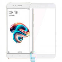 Защитное стекло Xiaomi Mi5x, A1 Full Glue 2.5D white тех.пакет