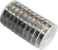 Проволока для бисера (0.30mm/10m) серебро, фото 1