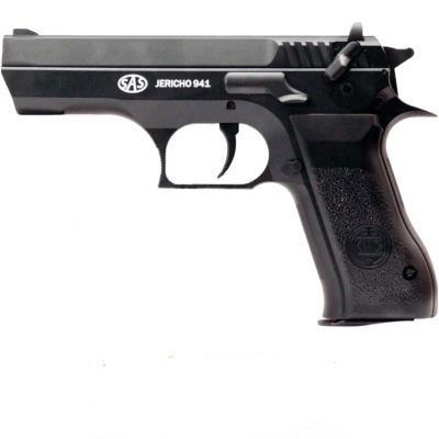 Пистолет пневматический SAS (Jericho 941). Корпус - пластик