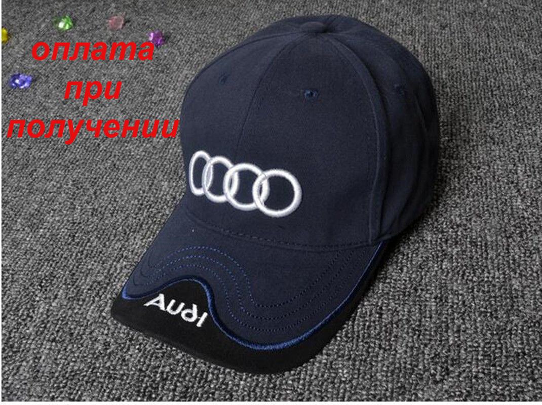 Чоловіча чоловіча нова фірмова стильна кепка, бейсболка Audi купити