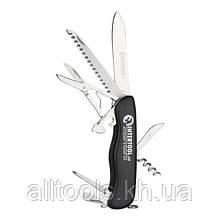 Многофункциональный складной нож 8 в 1 INTERTOOL HT-0591