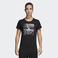 Женская футболка adidas Athletics Photo CV4580 - 2018
