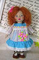 """Текстильная кукла """"Рыжик""""игрушка ручной работы, фото 1"""