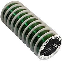 Проволока для бисера (0.30mm/30m) зеленая