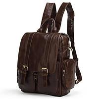 TIDING BAG Рюкзак кожаный TIDING BAG 7123C