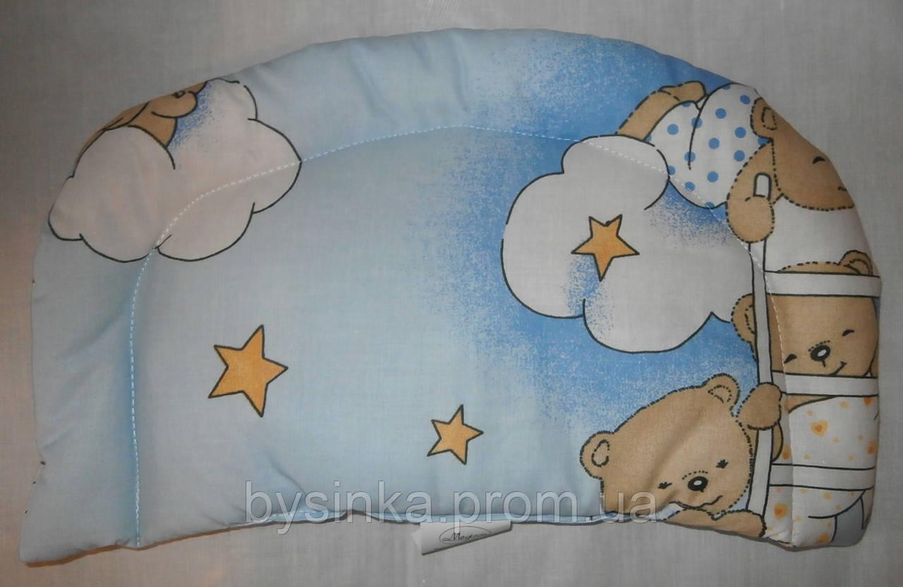 Подушка детская в коляску, кроватку от 0 мес.