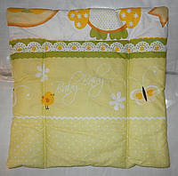 Детские подушки для новорожденных рамером-38х38 см