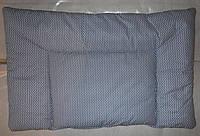 """Подушка для новорожденного в кроватку от -0 мес """"Зигзаг"""""""