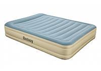 Надувной матрас кровать со встроенным электронасосом bestway 69007