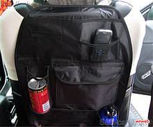 Автомобильный органайзер на спинку переднего сиденья 54х38 см
