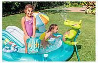 Детский надувной игровой центр Intex 57129 Аллиигатор