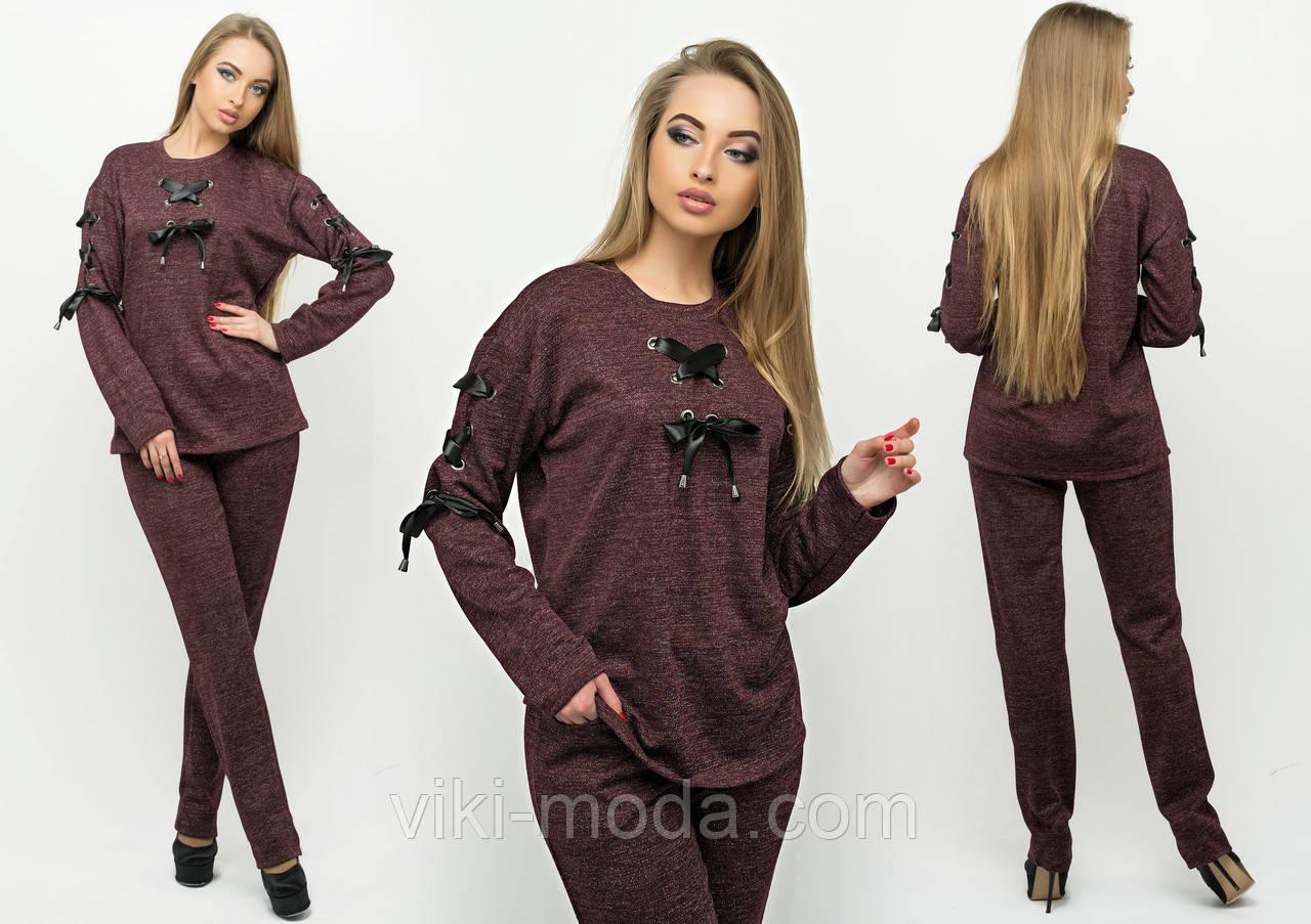 54cd2307af97 Спортивный костюм Санта (бордовый) - Оптово - розничный магазин одежды  viki-moda в