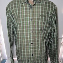 Мужская рубашка с длиным рукавом