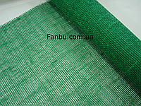 Сетка-мешковина натуральная флористическая ,ярко зеленого цвета (лист 0.5* 0.5м)