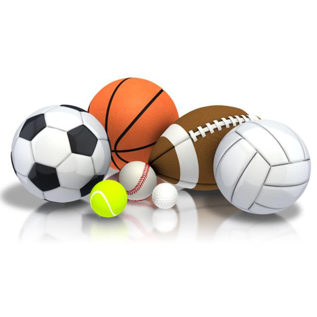 Игровые спортивные мячи