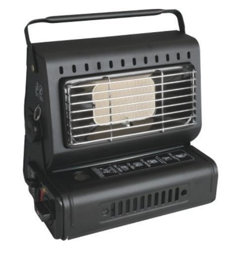 Газовий обігрівач з перехідником інфрачервоний Portable Gas Heat