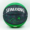 Мяч баскетбольный резиновый №7 SPALDING 73935Z NBA Team Basketball-Celtics 2013