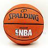 Мяч баскетбольный резиновый №7 SPALDING 83016Z NBA SILVER Outdoor