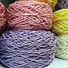 Рафия соломка для вязания шляп и сумок цвет сиреневый