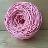Рафия соломка для вязания шляп и сумок цвет розовый